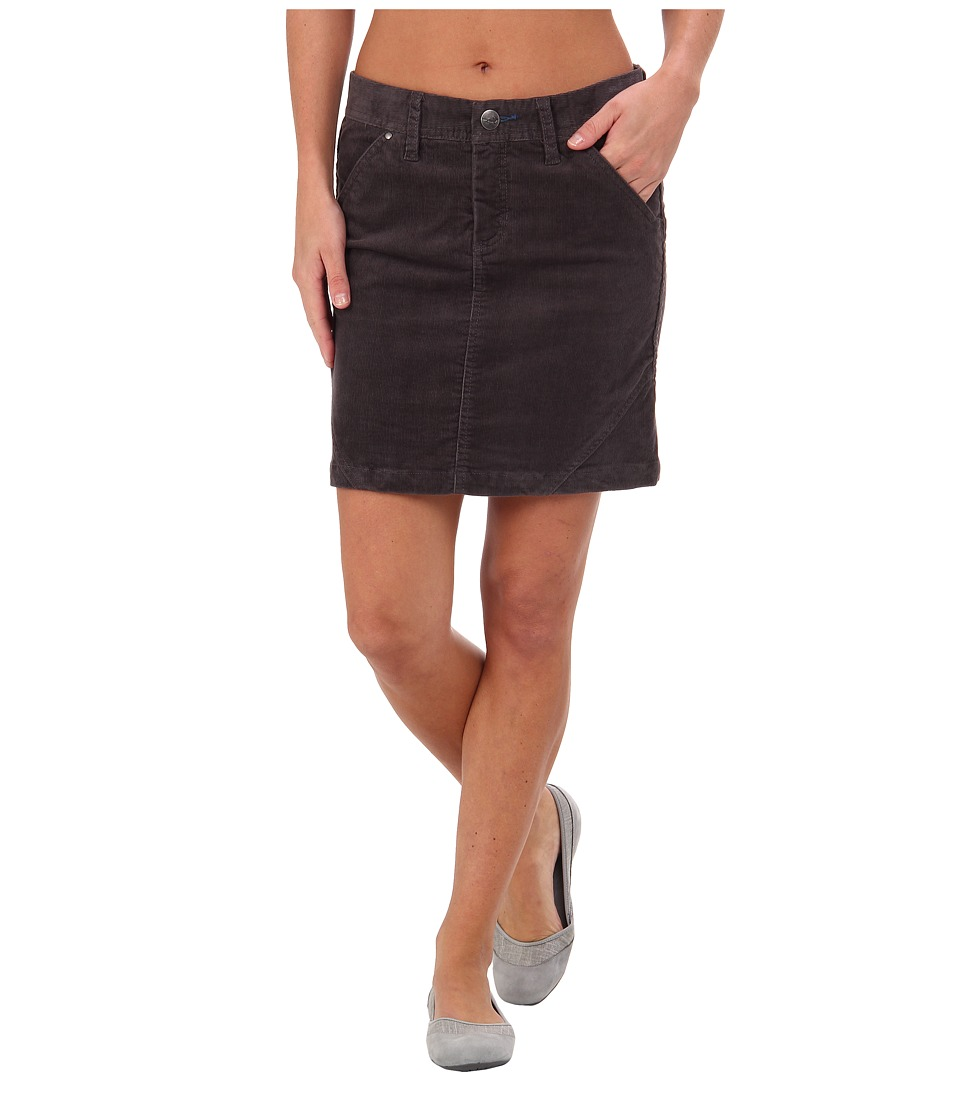 Toad&Co - Coriander Skirt (Dark Graphite) Women