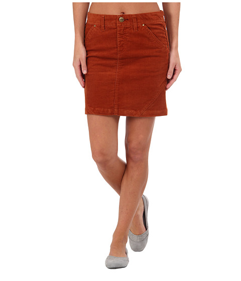 Toad&Co - Coriander Skirt (Dark Copper) Women's Skirt