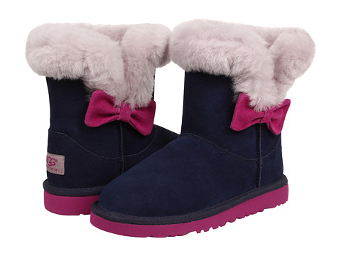 UGG Kids - Kourtney (Little Kid/Big Kid) (Peacoat) Girls Shoes