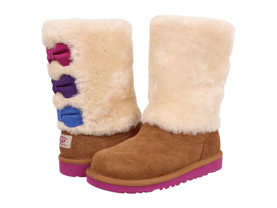 UGG Kids - Malena (Little Kid/Big Kid) (Chestnut) Girls Shoes