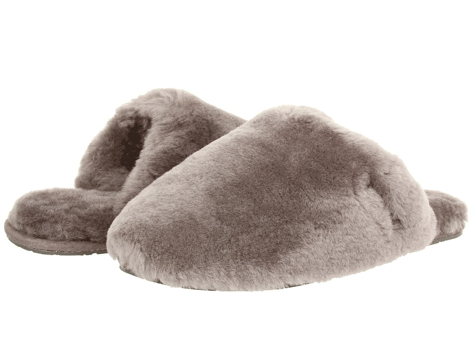 UGG - Fluff Clog (Grey) Women's Shoes