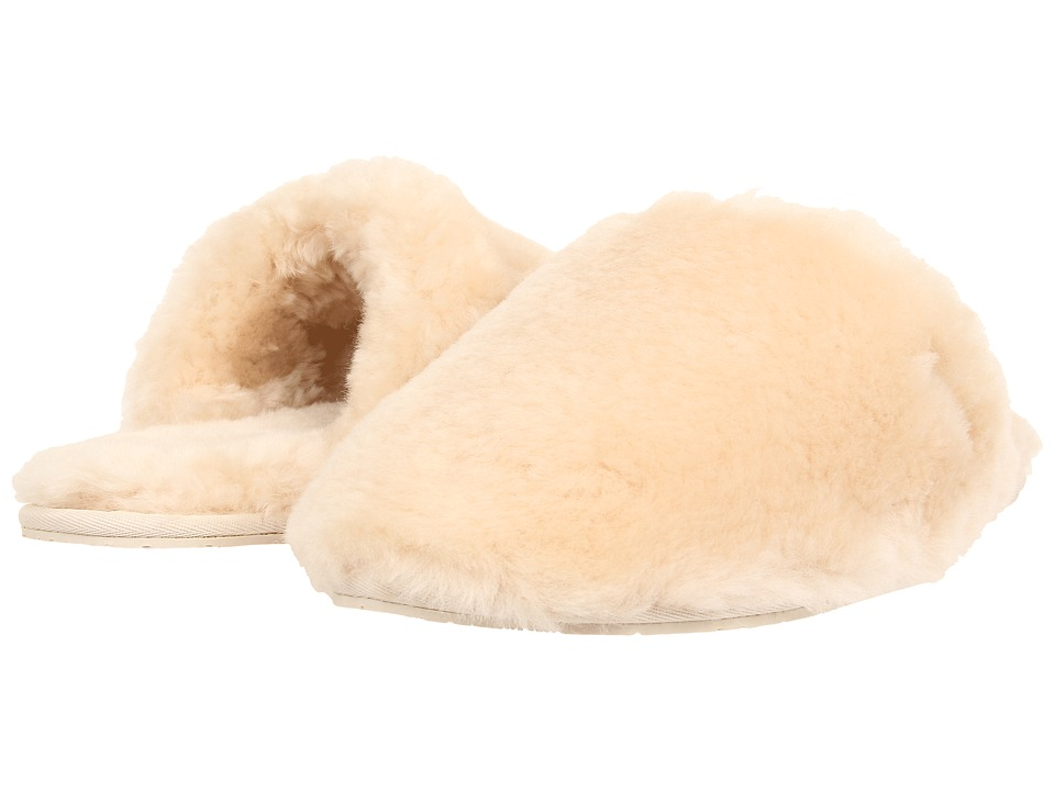 UGG - Fluff Clog (Natural) Women's Shoes