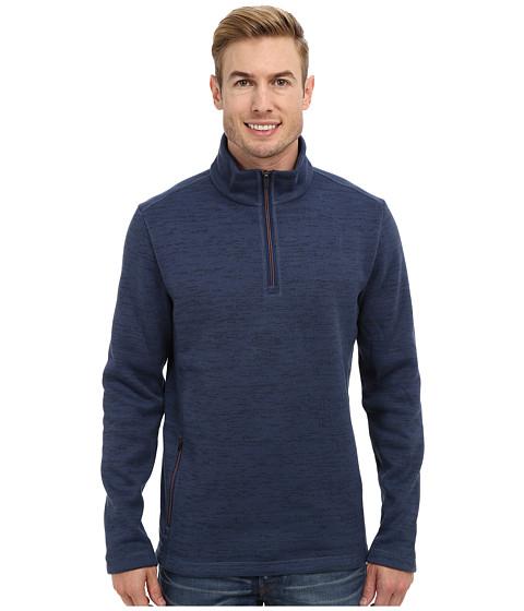 Toad&Co - Override 1/4 Zip (Dark Blue) Men's Sweater