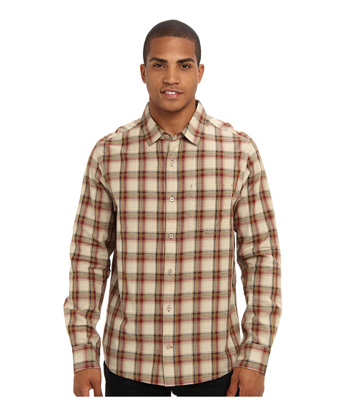 Toad&Co - Open Air Long Sleeve Shirt (Brown Madder) Men's Long Sleeve Button Up