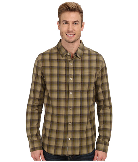 Toad&Co - Open Air Long Sleeve Shirt (Avocado) Men's Long Sleeve Button Up