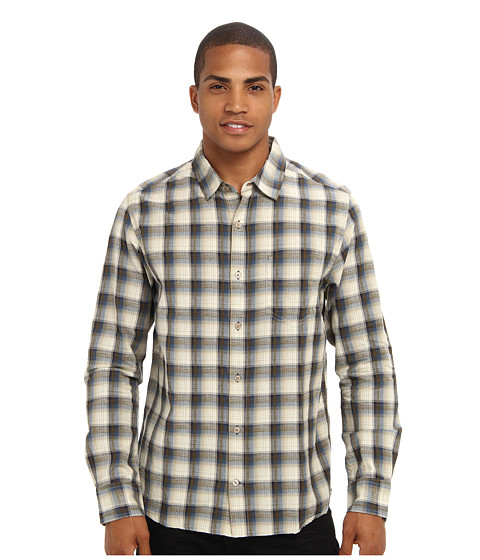 Toad&Co - Open Air Long Sleeve Shirt (Bluefin) Men's Long Sleeve Button Up