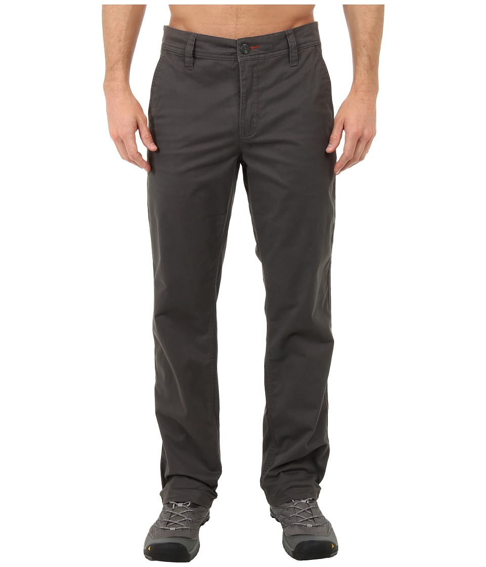 Toad&Co - Mission Ridge Pant 32 (Dark Graphite) Men