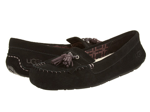 UGG - Lizzy (Black) Women's Flat Shoes