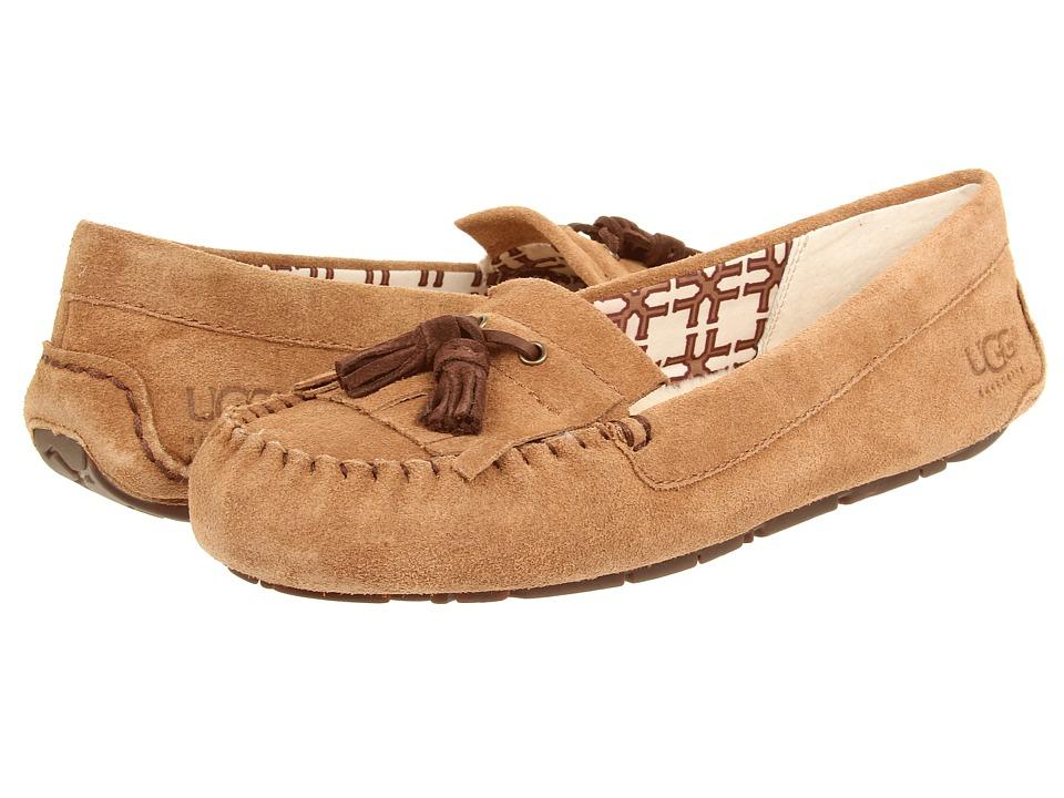 13a7d03f3b8 UPC 887278904366 - UGG Lizzy (Chestnut) Women's Flat Shoes ...