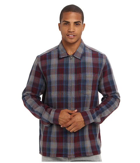 Toad&Co - Liaison Reversible Overshirt (Port) Men's Clothing