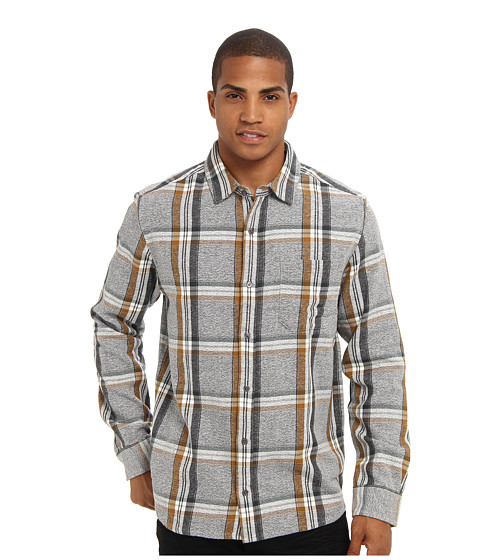 Toad&Co - Earle Shirt (Maple) Men's Long Sleeve Button Up
