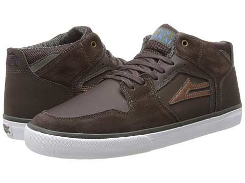 Lakai - Telford (All Weather) (Coffee Suede) Men's Skate Shoes