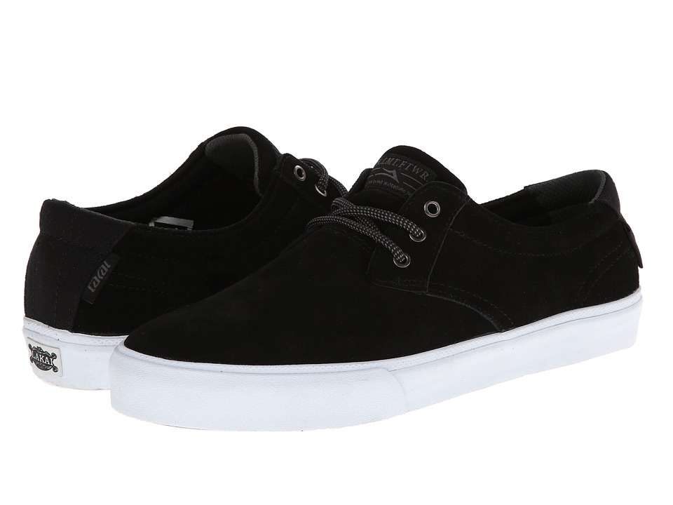 Lakai - M.J. (Black Suede) Men's Skate Shoes