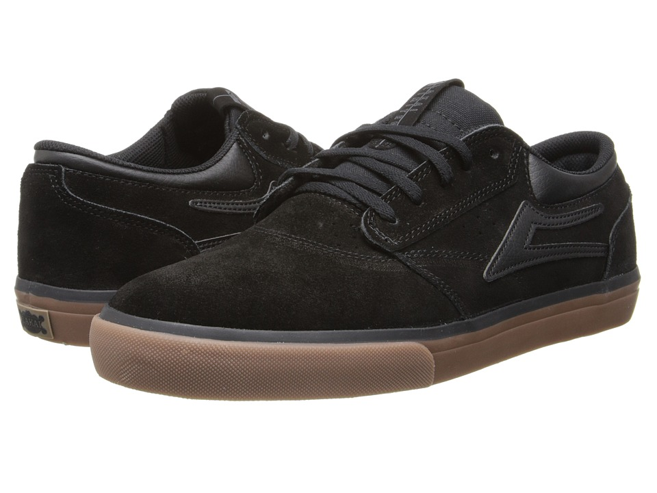Lakai - Griffin (Black/Gum Suede) Men