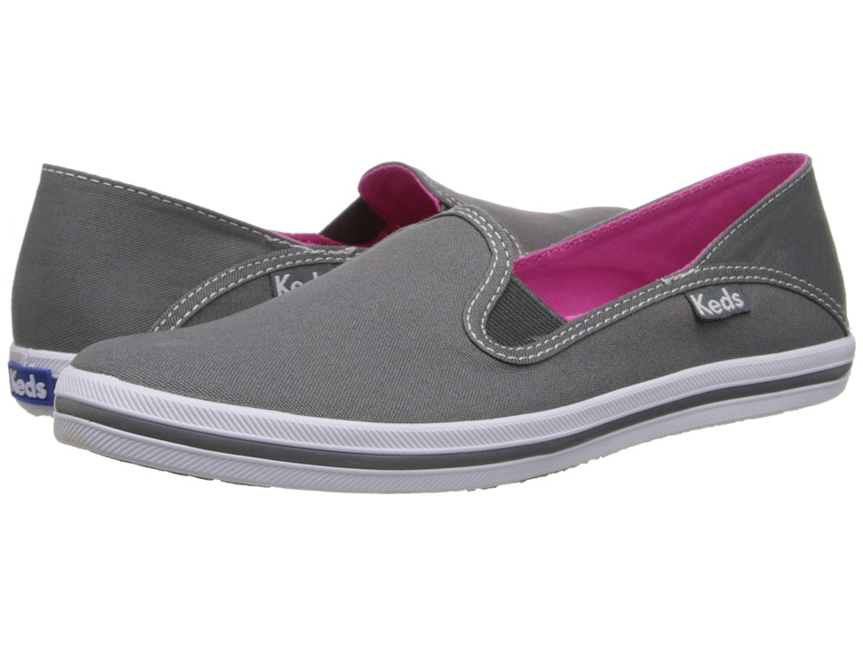 Keds Crash-Back Seasonal Solid (Steel Gray) Women