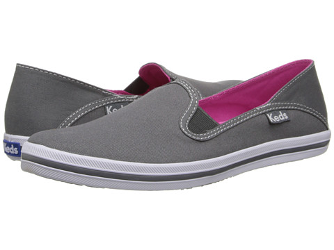 Keds - Crash-Back Seasonal Solid (Steel Gray) Women