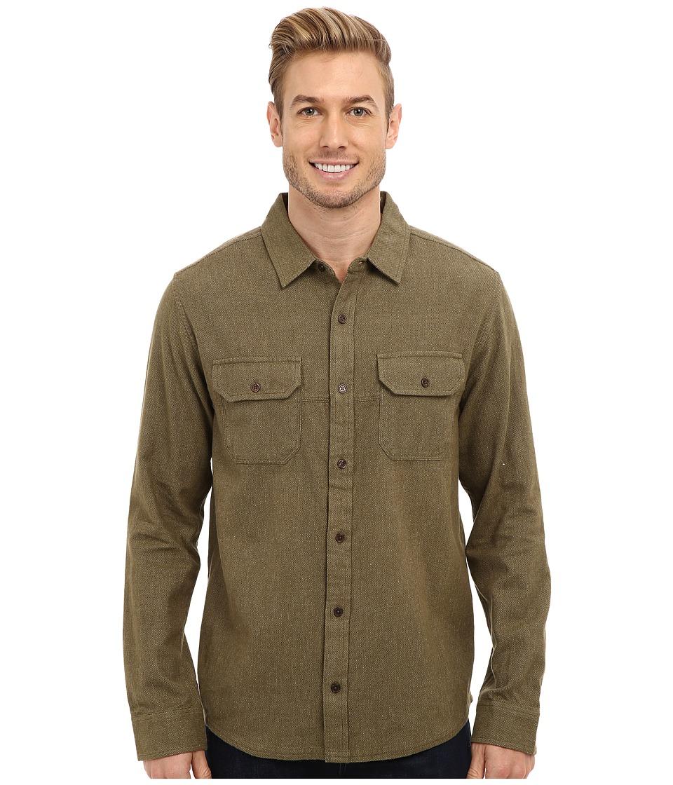 Toad&Co - Dot Matrix Shirt (Dark Olive) Men