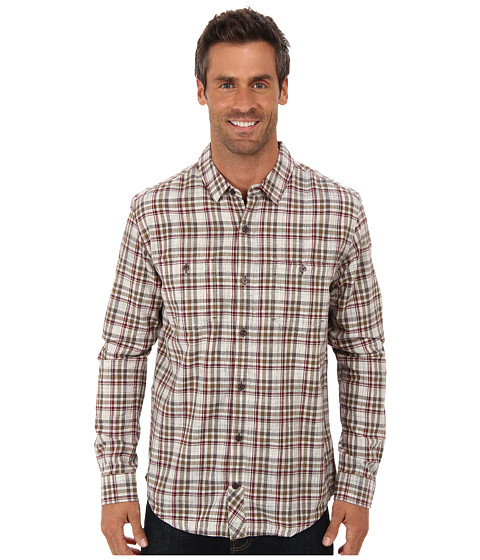 Toad&Co - Smythy Long Sleeve Shirt (Driftwood) Men's Clothing