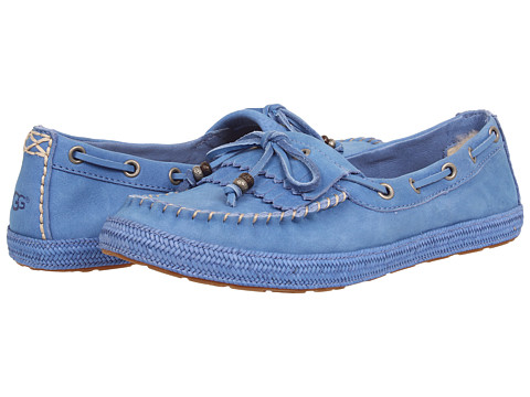 UGG - Drina (Smooth Blue) Women's Shoes