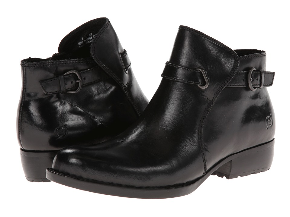 Born - Jem (Black Full-Grain) Women's Shoes