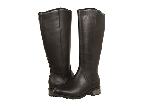 UGG - Seldon (Black Leather) Women's Boots
