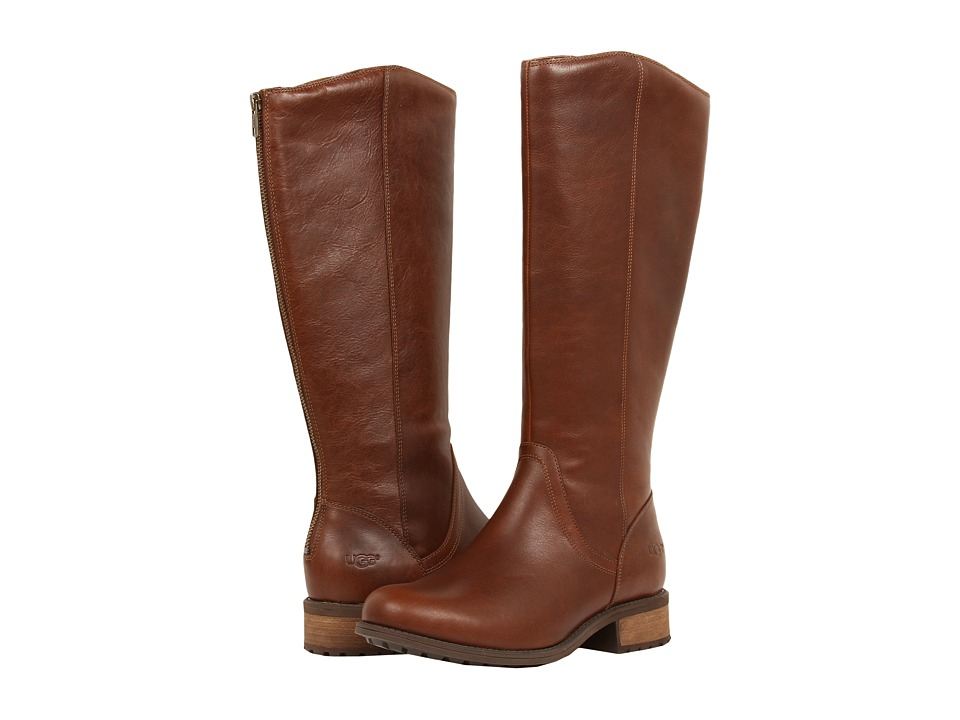 UGG - Seldon (Dark Chestnut Leather) Women's Boots