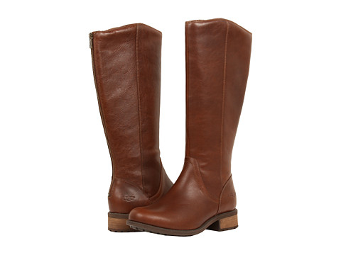 UPC 887278936756 product image for UGG Seldon (Dark Chestnut Leather) Women's Boots | upcitemdb ...