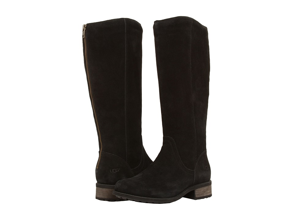 UGG - Seldon (Black Suede) Women's Boots
