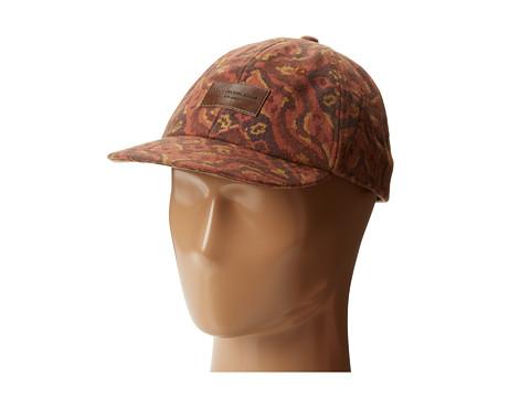 Obey - Courson Throwback Hat (Bordeaux) Caps