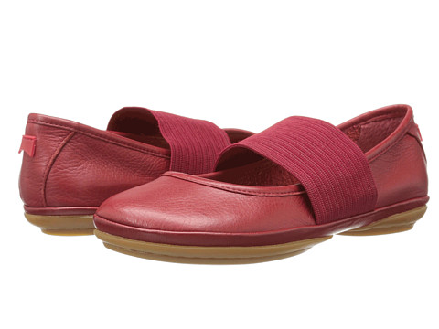 Camper - Right Nina - 21595 (Medium Red) Women's Slip on Shoes