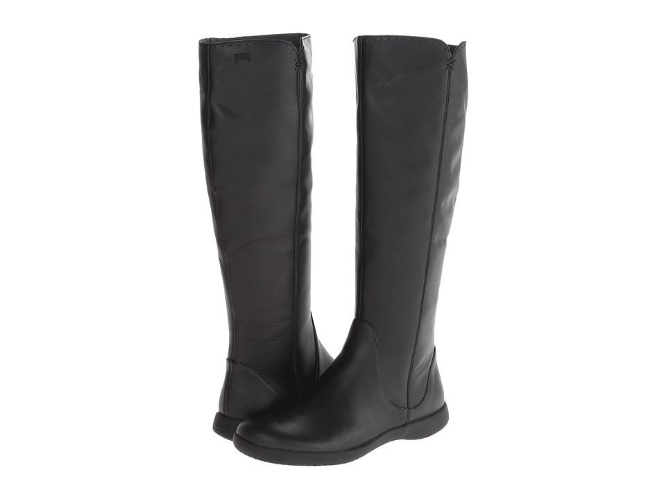 Camper - Spiral Comet - 46300 (Black) Women's Zip Boots