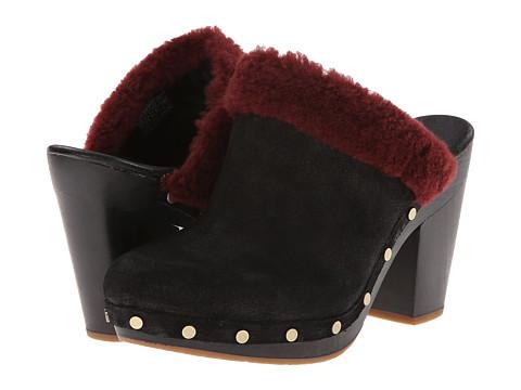 UGG - Adele (Black) Women's Clog Shoes