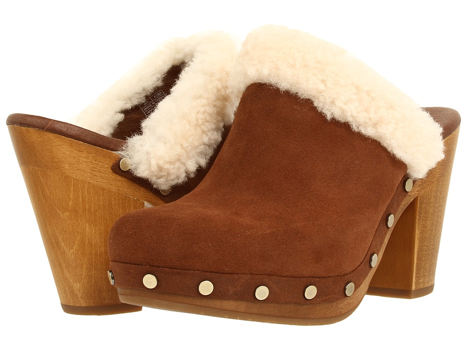 UGG - Adele (Chestnut) Women's Clog Shoes