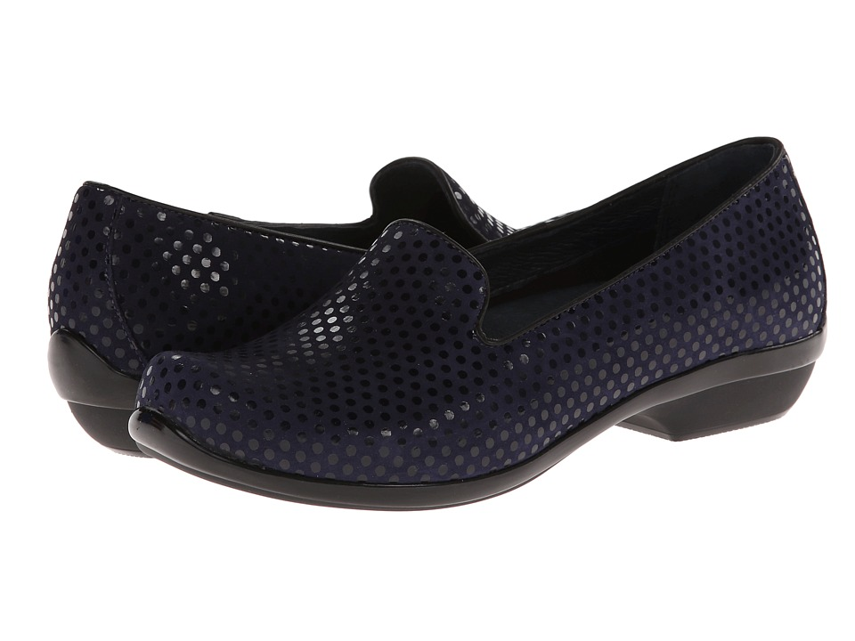 Dansko - Olivia (Navy Polka Dot) Women's Shoes