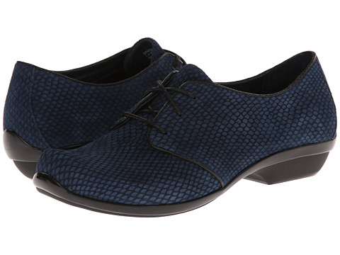 Dansko - Olive (Blue Snake Nubuck) Women's Lace up casual Shoes
