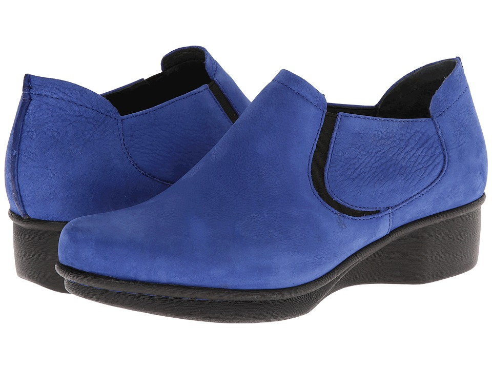 Dansko - Lynn (Blue Nubuck) Women's Shoes