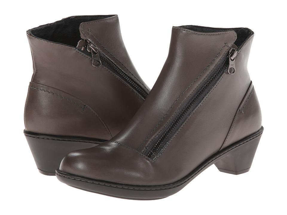 Dansko - Billie (Grey Burnished Nappa) Women