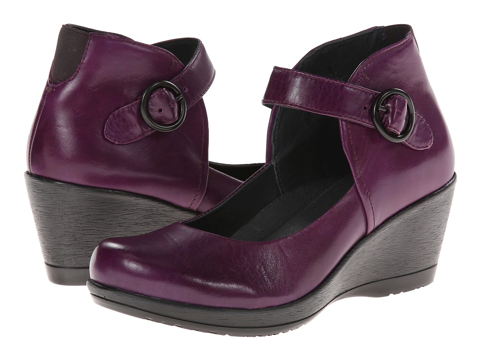 Dansko - Rebel (Purple Burnished Nappa) Women's Shoes