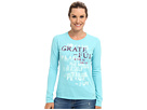 Life is good Grateful Stencil Crusher L/S Tee