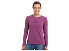Life is good LIG Crusher L/S Tee (Perfect Plum)