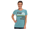 Life is good Cool Tee (Turquoise Blue)
