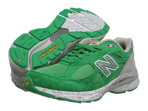 ... UPC 888098615524 product image for New Balance W990 (Green Grey) Women s  Running Shoes ... 49b7e02996