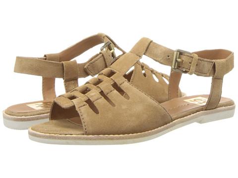 DV by Dolce Vita - Nanette (Cognac Suede) Women's Sandals