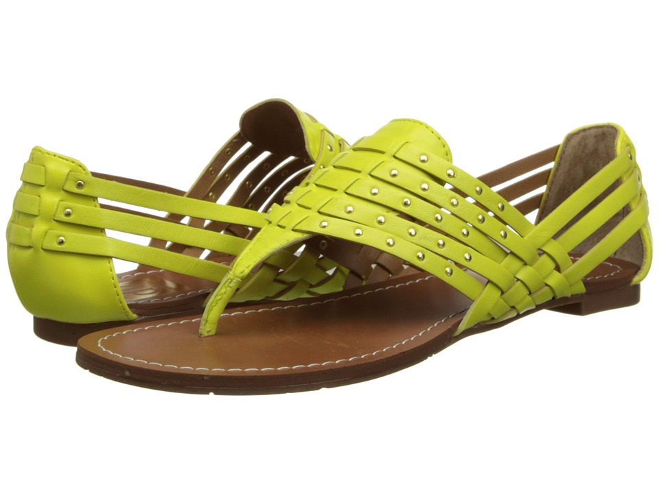 DV by Dolce Vita - Dune (Lemon Leather) Women's Sandals