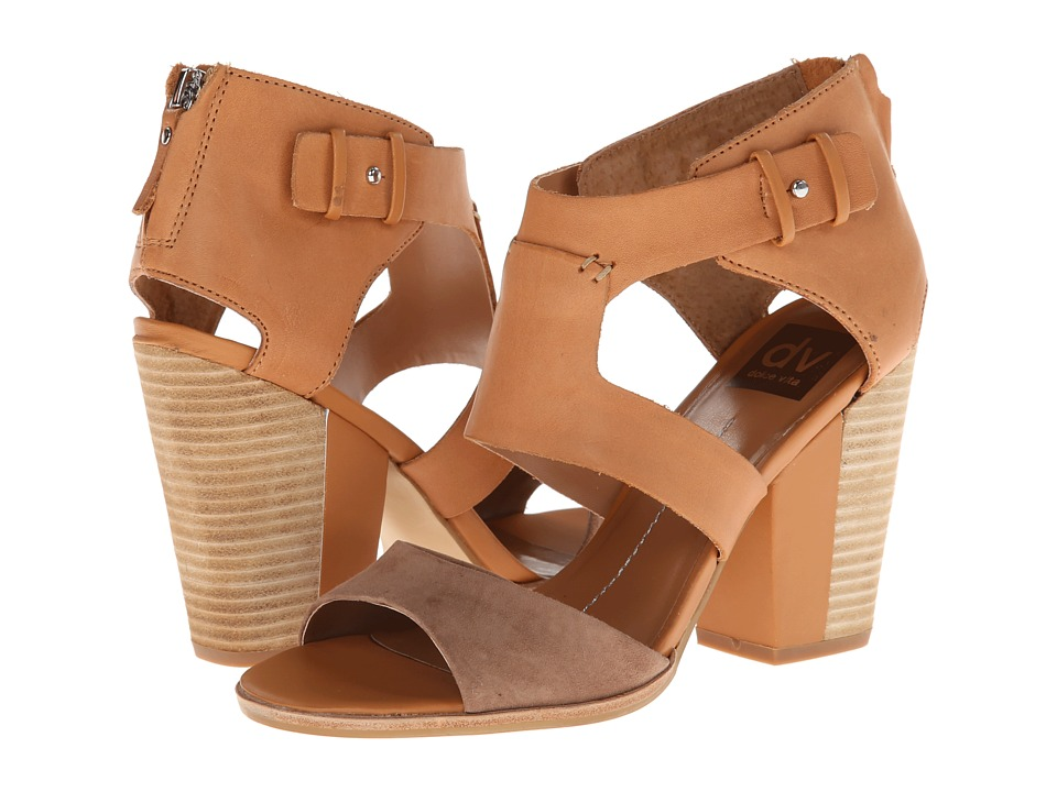 DV by Dolce Vita - Parissa (Taupe/Honey Suede) High Heels