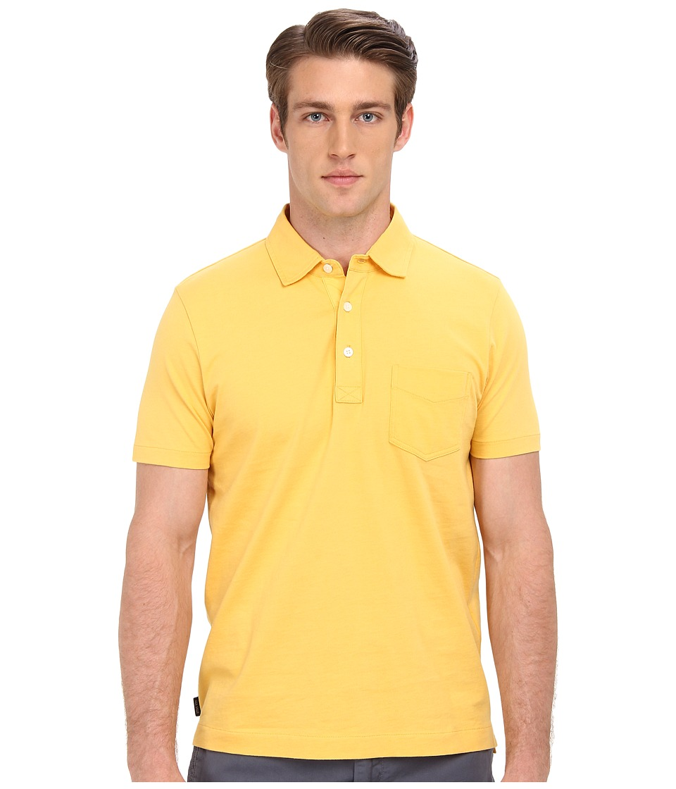 Jack Spade - Warren Solid Polo (Yolk Yellow) Men's Clothing