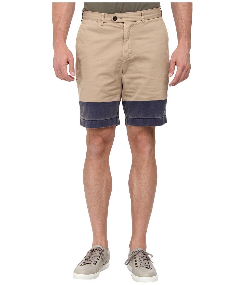 Jack Spade - Cole Shorts (Khaki/Navy) Men