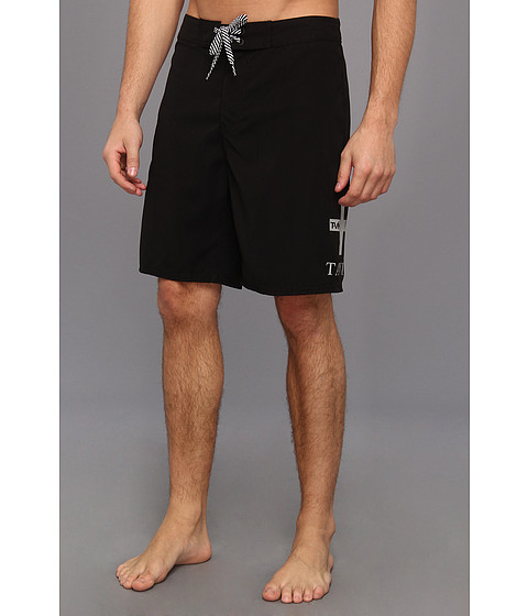 Tavik - Stock Boardshort (Black) Men's Swimwear
