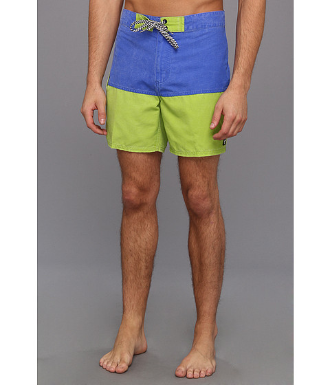Tavik - Deco Boardshort (Blue) Men's Swimwear