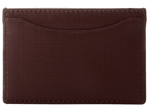 Jack Spade - Credit Card Holder (Oxblood) Credit card Wallet